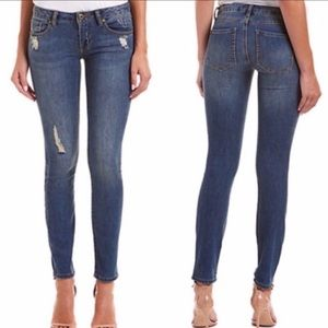 Cabi #5087 Deconstructed Skinny Jeans Distressed 6